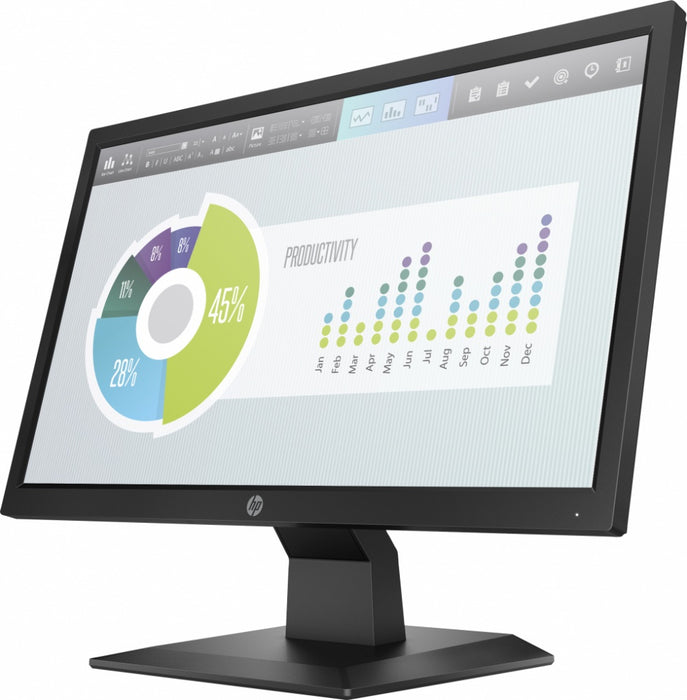 "Monitor HP P204v LED 19.5"", HD, Widescreen, HDMI, Negro"