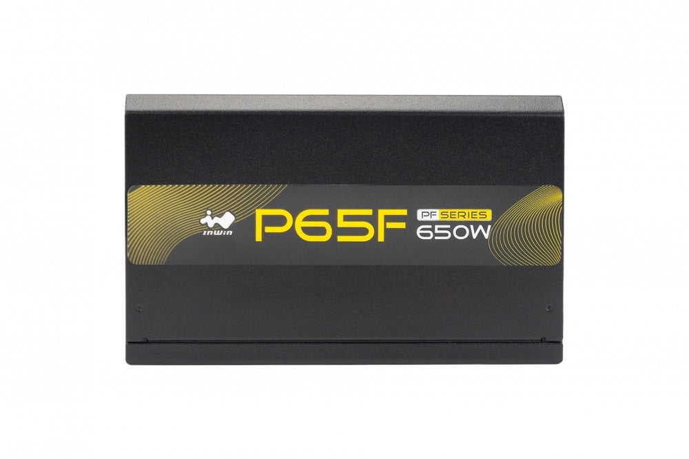 Fuente de Poder In Win P65F 80 PLUS Gold, 20+4 pin ATX, 120mm, 650W