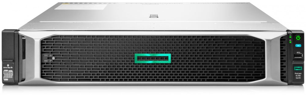 "Servidor HPE ProLiant DL180 Gen10, Intel Xeon Silver 4208 2.10GHz, 16GB DDR4, max. 144TB, 3.5"", SATA, Rack (2U) - no Sis"