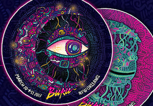 BUKU 2017 Moon-Eye Holographic Magnet