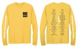 YELLOW LINEUP WASHED LONGSLEEVE