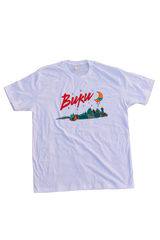 BUKU Skyline T-Shirt (White)