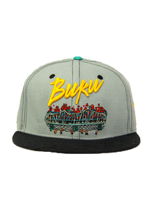 2013 BUKU Grassroots California Fitted Hat