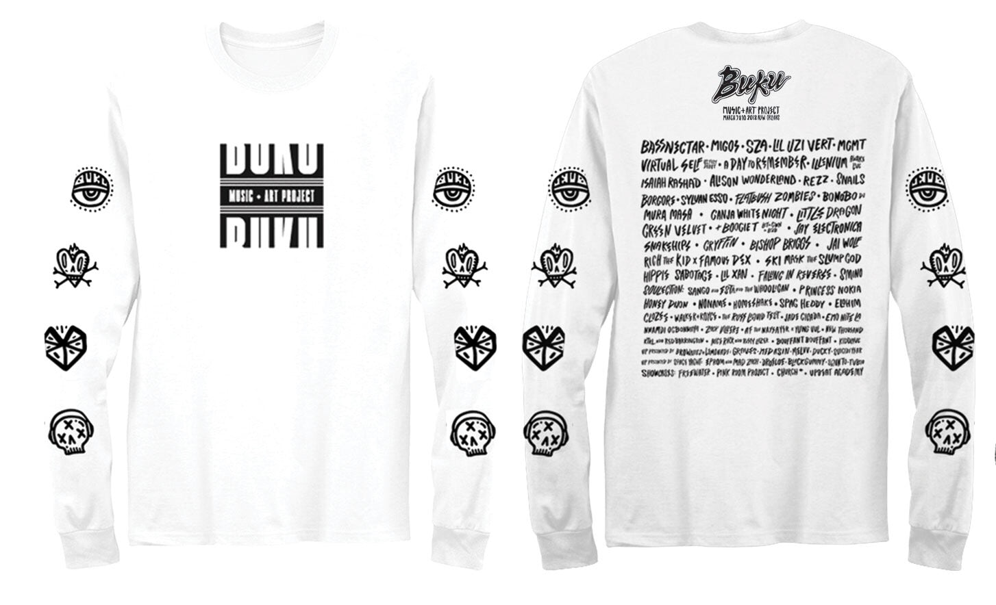 BUKU Lineup Long Sleeve