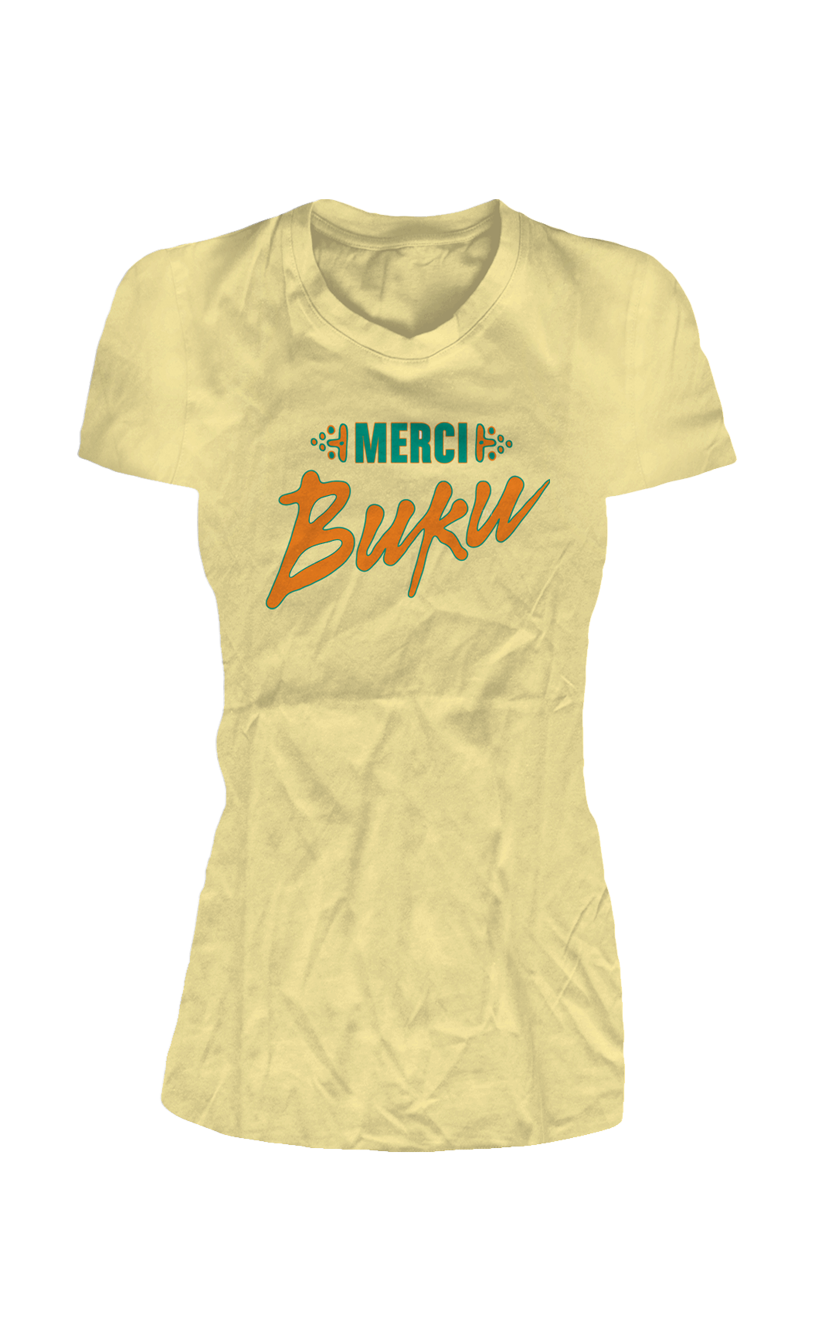 Merci BUKU Ladies T-Shirt