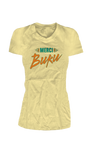 Merci BUKU Ladies T-Shirt (Yellow)
