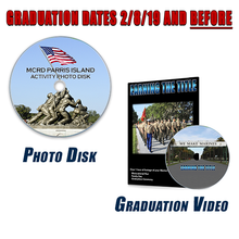 Load image into Gallery viewer, Photo Disk, Training & Grad Video Package-The ONLY way to Get Grad Day Shipping!