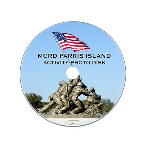 Parris Island Activity Photo Disk – The ONLY way to Get Graduation Day Shipping!