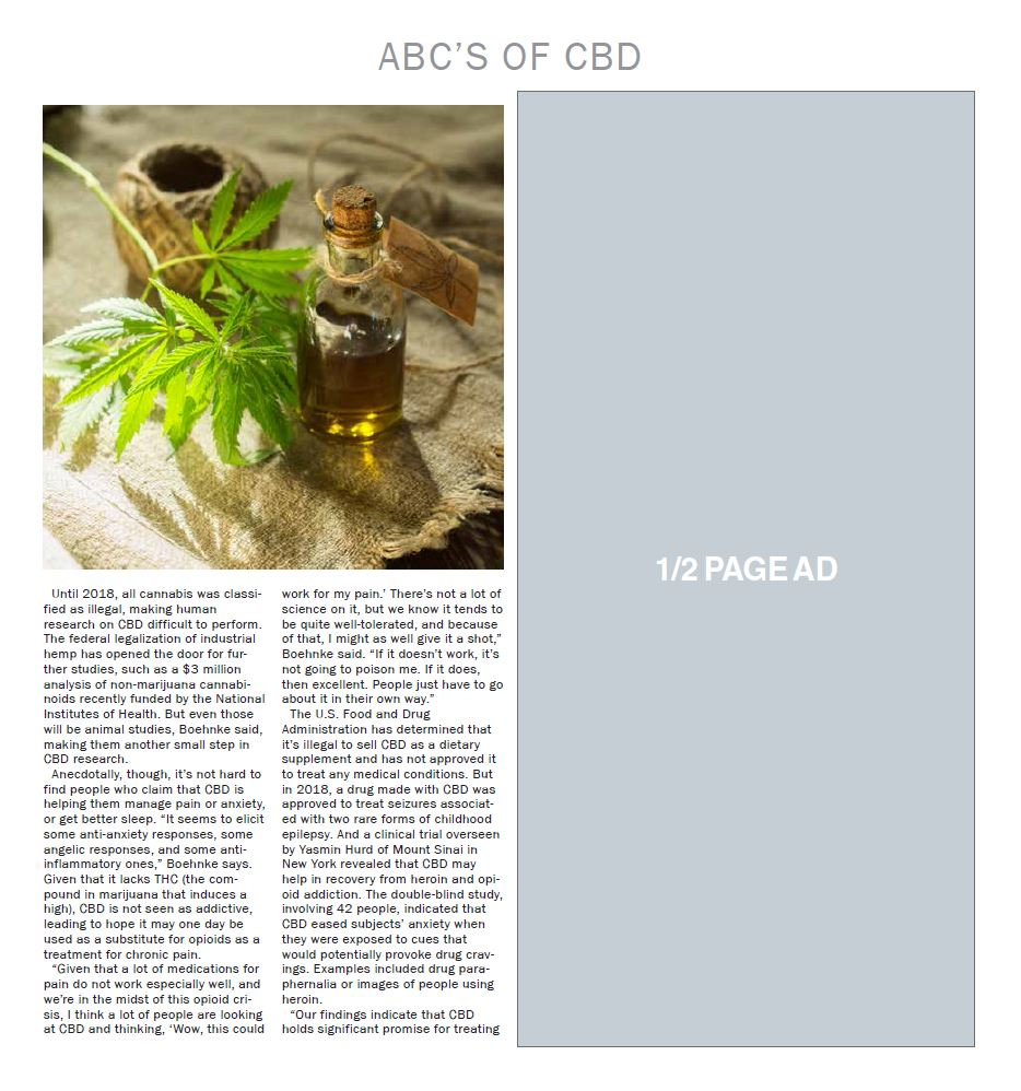 Body & More: ABC's of CBD