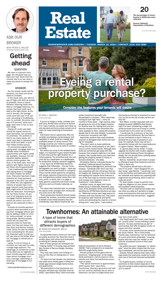 Real Estate Weekly: Eyeing a Rental Property Purchase?