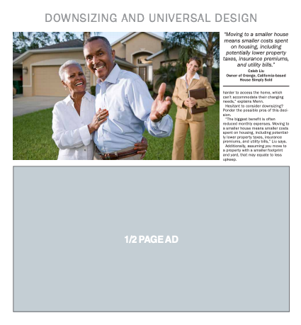 2020 Downsizing and Universal Design