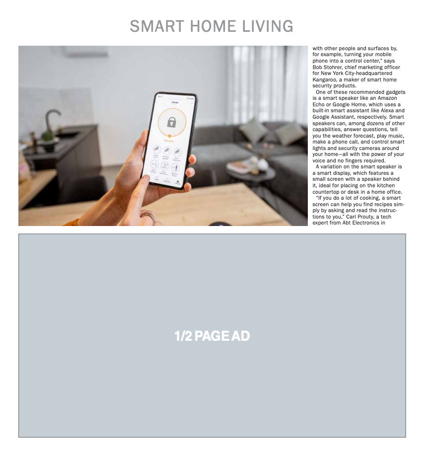 Homestyle: Smart Home Living