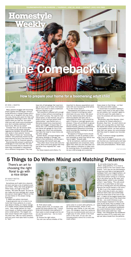 Homestyle Weekly: The Comeback Kid
