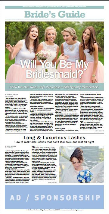 Bride's Guide Weekly: Fashion Dresses & Bridal Suits