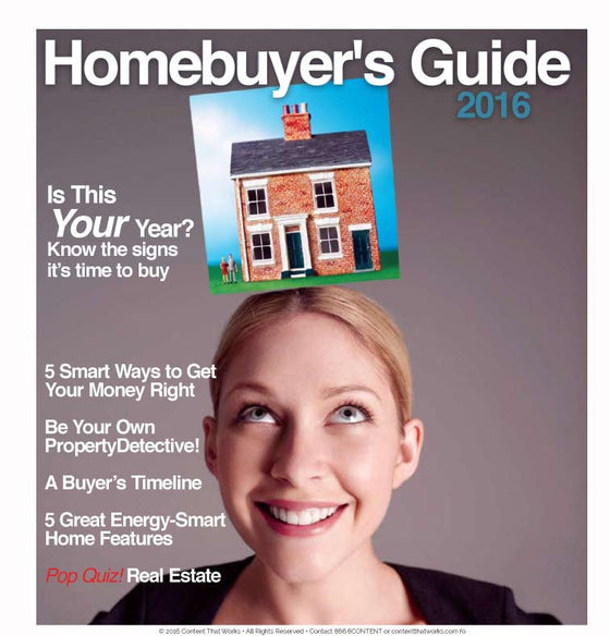 Homebuyer's Guide - The Content Store