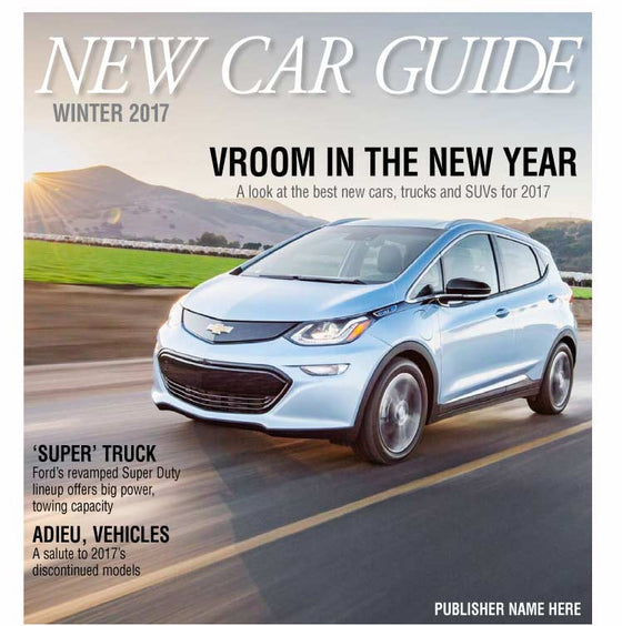 New Car Guide: Winter 2017