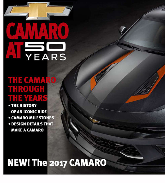 Chevrolet Camaro 50th Anniversary - The Content Store