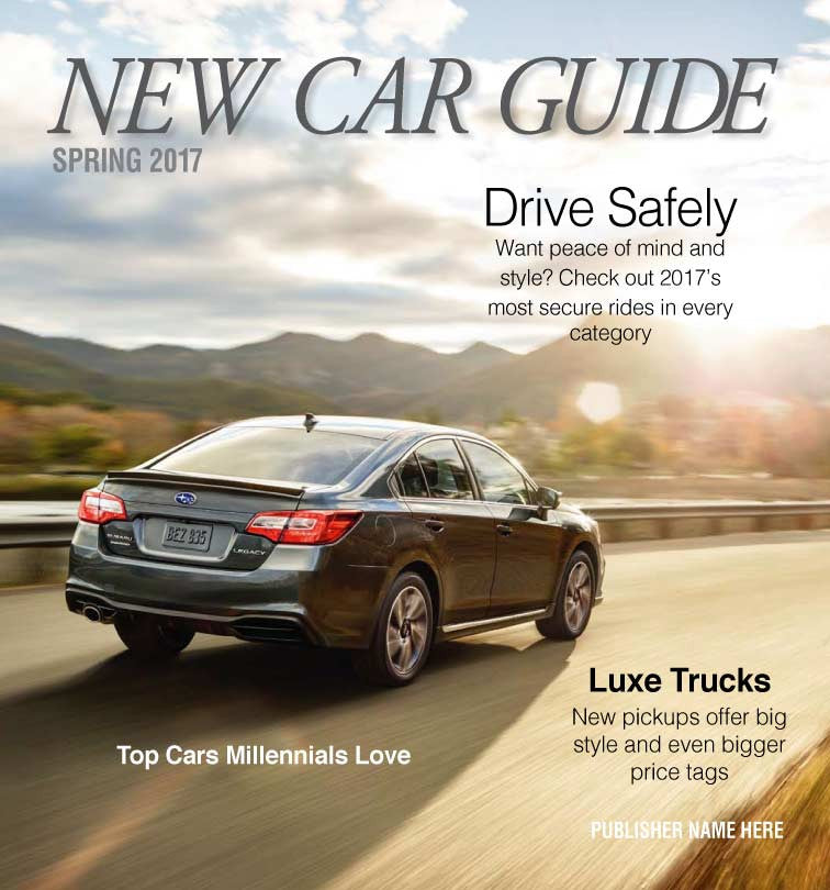New Car Guide: Spring 2017