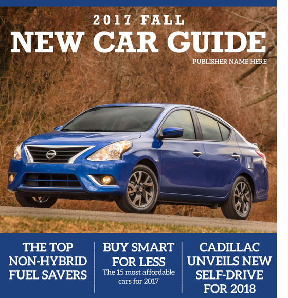 New Car Guide: Fall 2017 - The Content Store