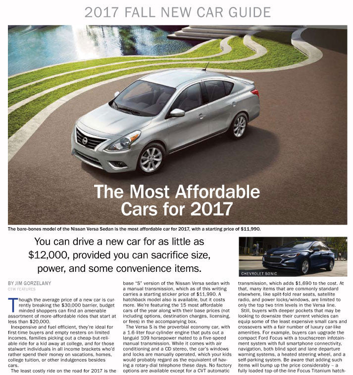 new car guide fall 2017 the content store rh store contentthatworks com Parker's Car Price Guide Used Car Price Guide Free