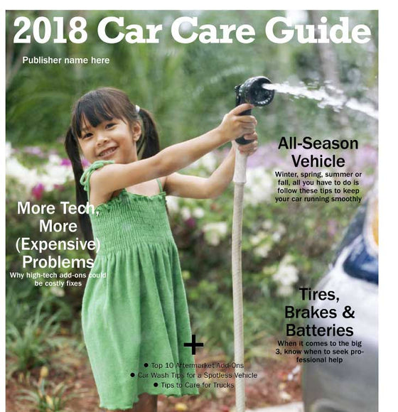 2018 Car Care Guide - The Content Store