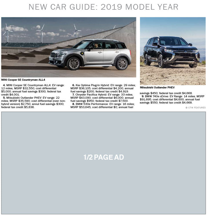 New Car Guide: 2019 Models
