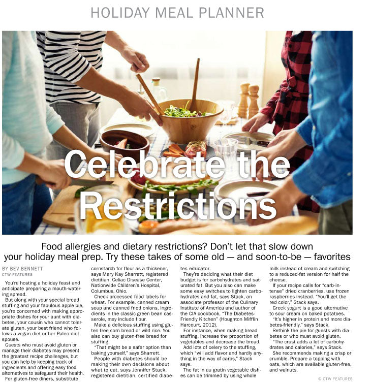 Holiday Meal Planner