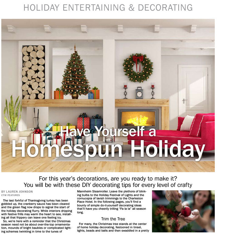 Holiday Entertaining & Decorating