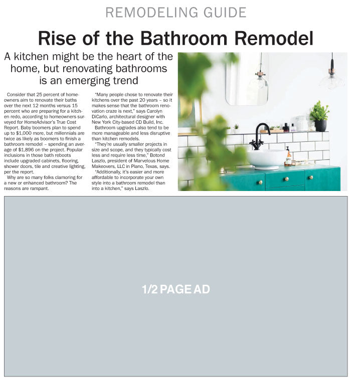 2019 HomeStyle Remodeling Guide