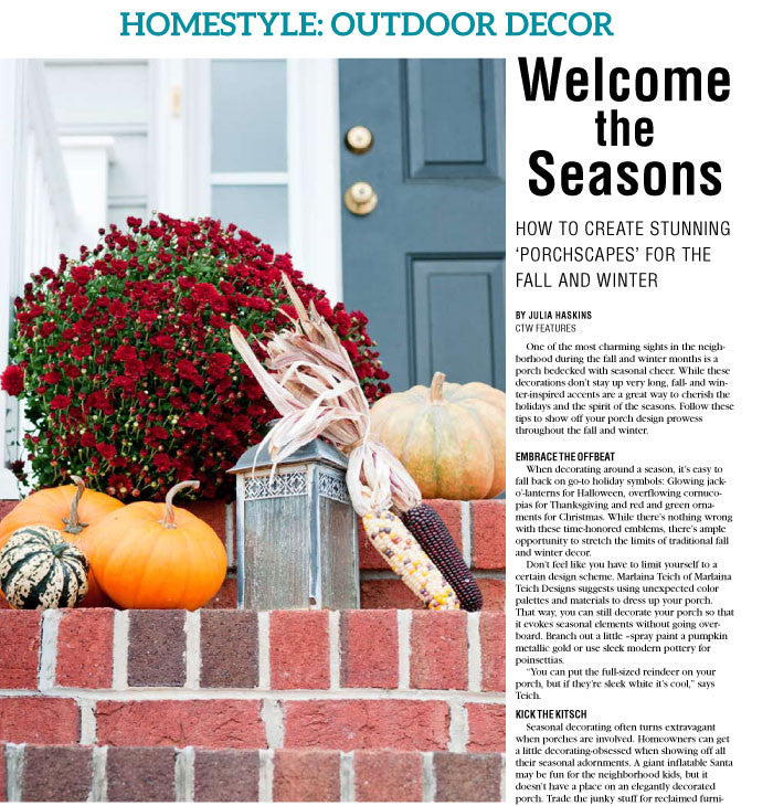 HomeStyle 2016: Fall & Winter Home Prep - The Content Store