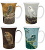 Bateman Owls Set of 4 Mugs