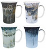 Bateman Wolves Set of 4 Mugs