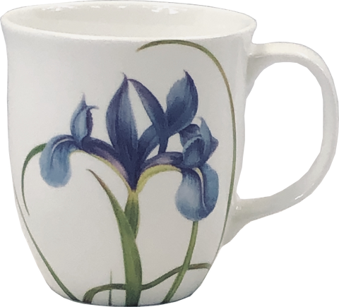 Garden Collection Blue Iris Java Mug
