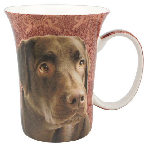 Chocolate Lab Crest Mug