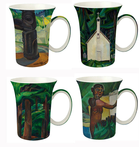 Carr set of 4 Mugs