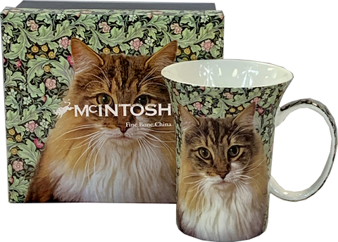 Feline Friends Regal Cat Crest Mug