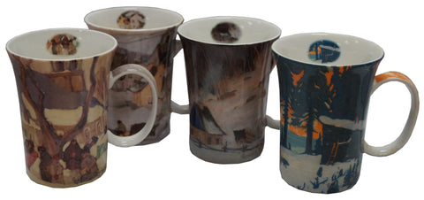 Gagnon set of 4 Mugs
