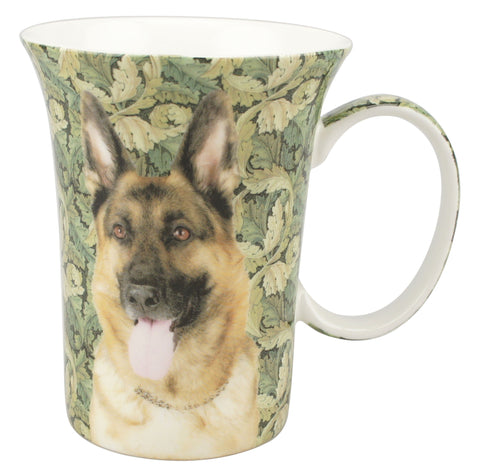 German Shepherd Crest Mug