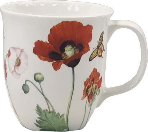 Garden Collection Poppies Java Mug