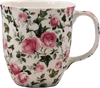 Pretty Chintzy Pink Roses Java Mug
