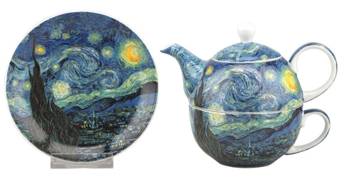 Van Gogh Starry Night Tea for One