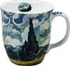 Van Gogh Wheatfields with Cypresses Java Mug