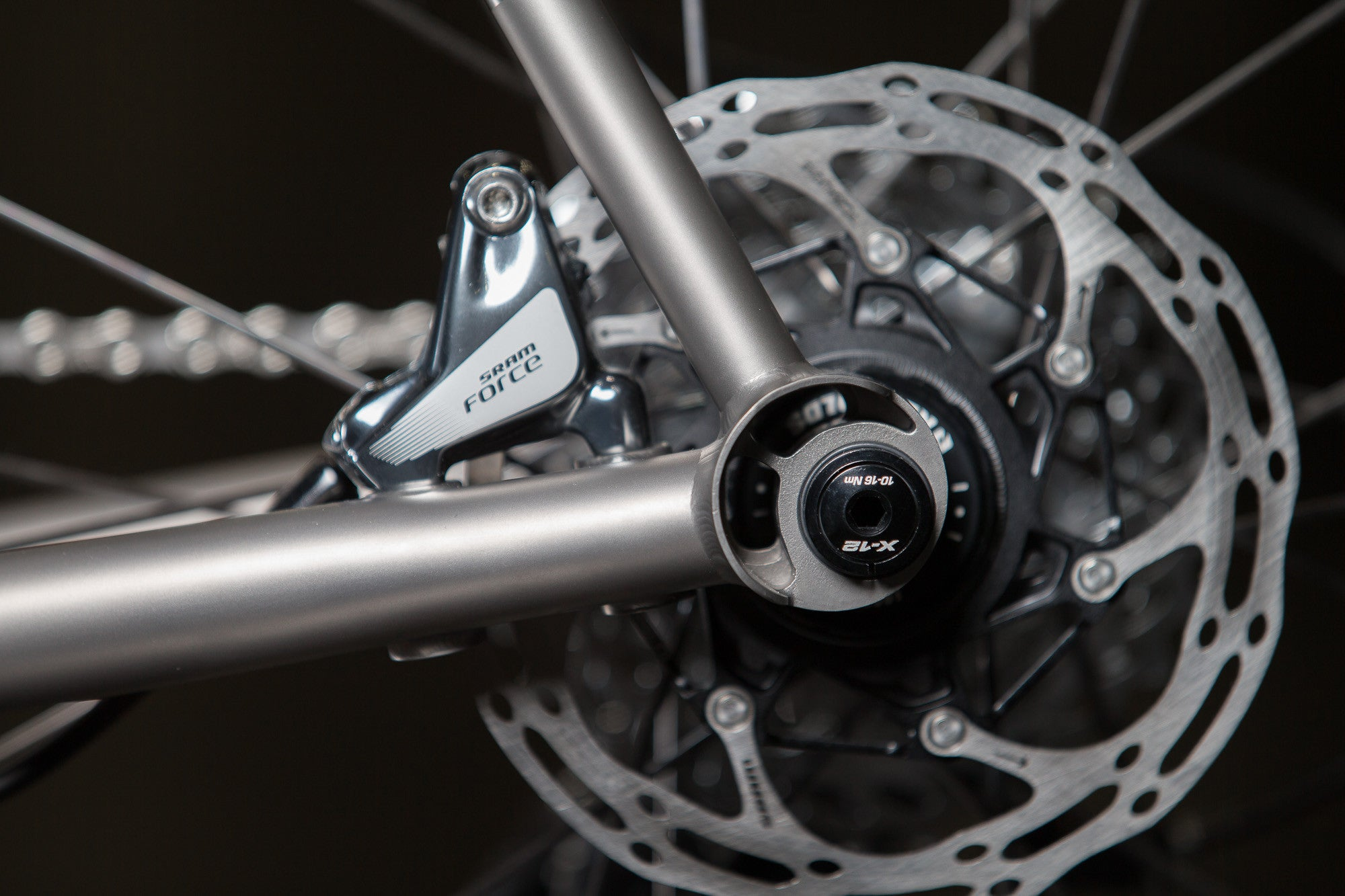 No. 22 Flat Mount Disc Titanium Dropout