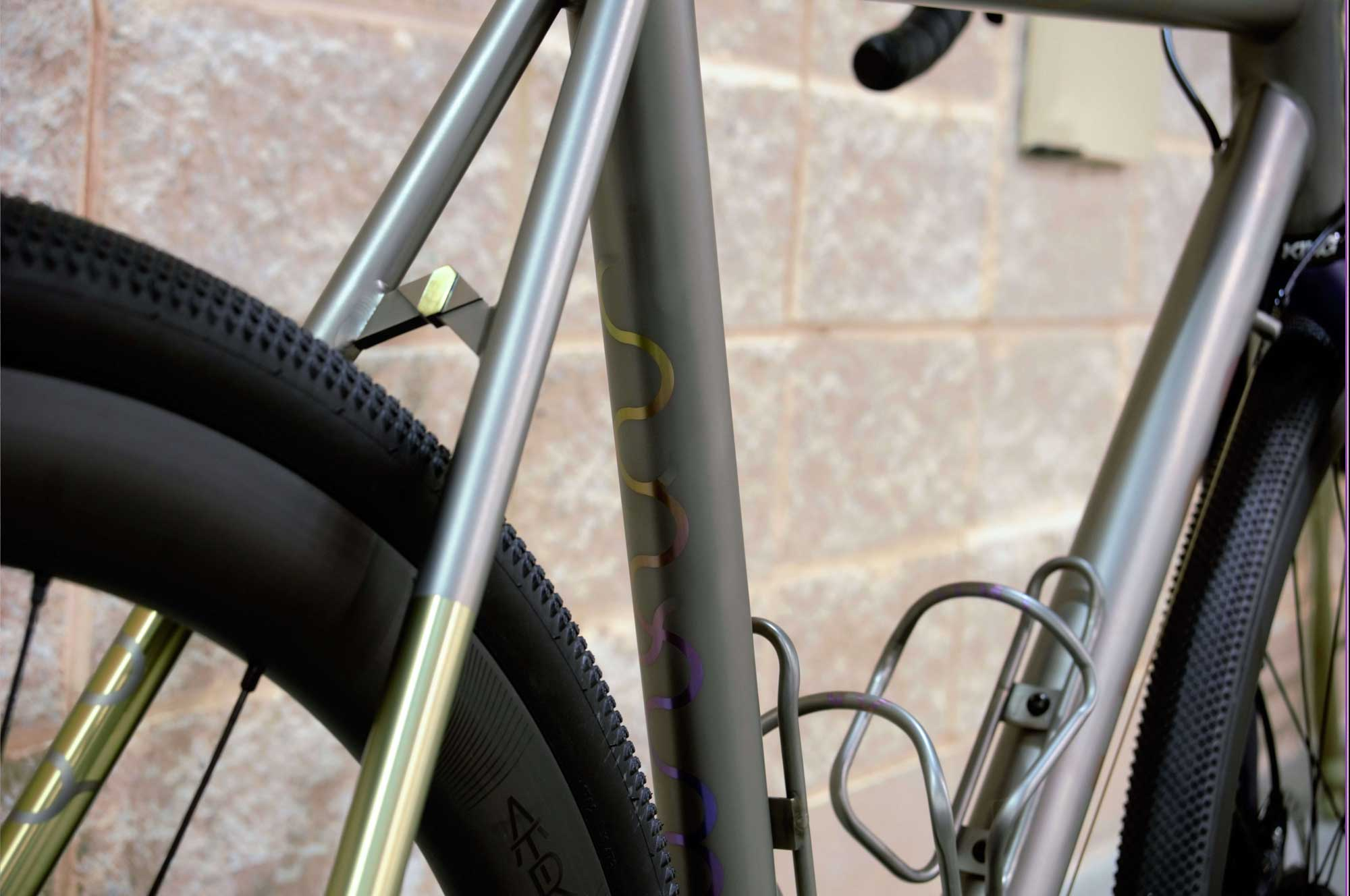 Drifter Anodized Seat Tube