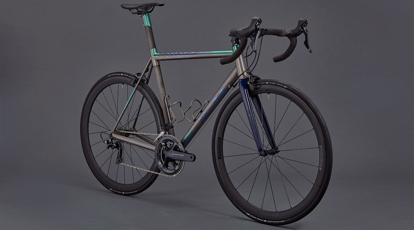 No 22 Bicycle Company Handmade Titanium Bikes