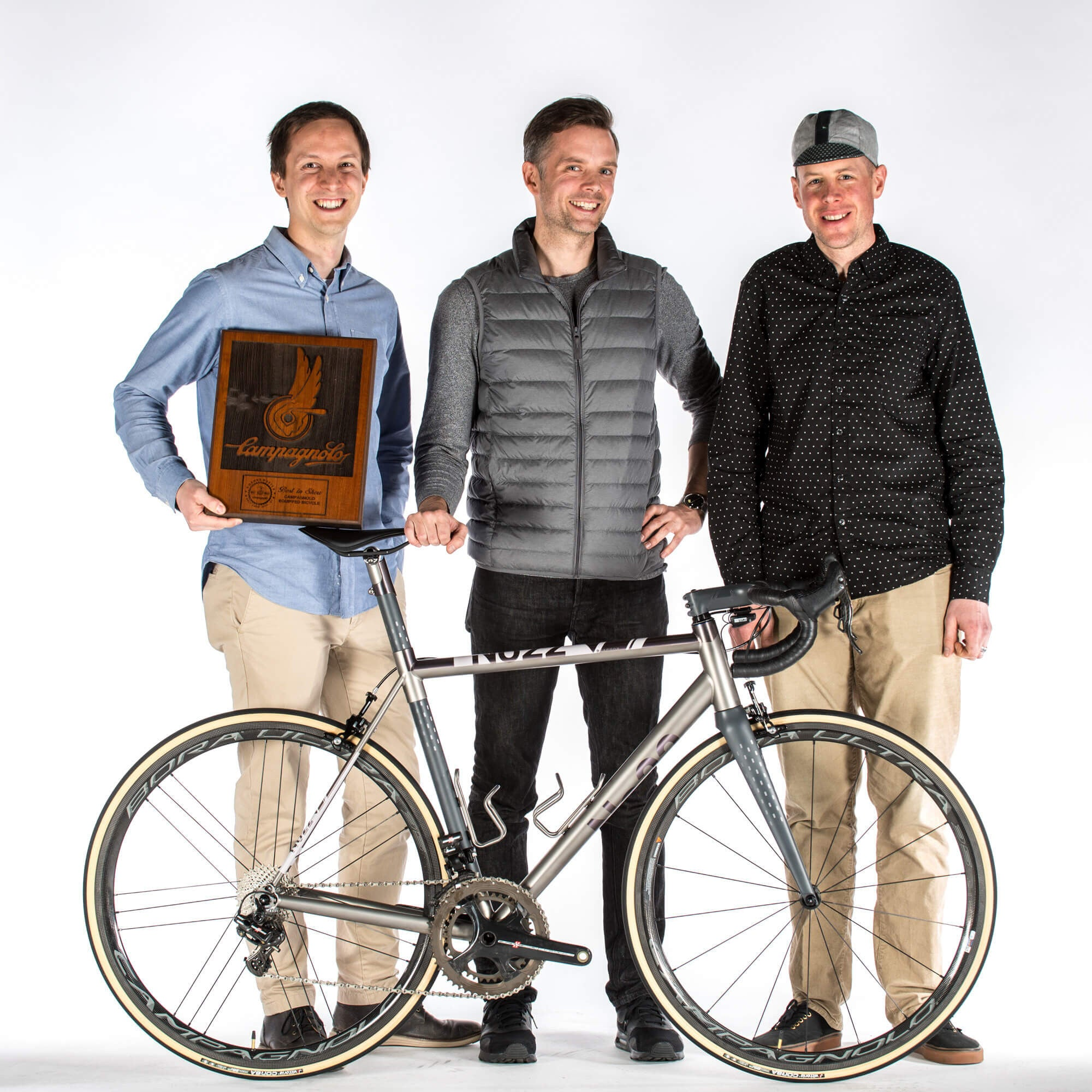No. 22 2017 NAHBS Campagnolo Best in Show Award