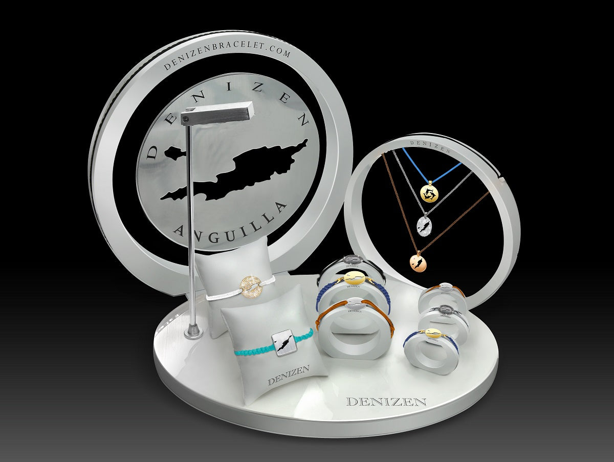 DENIZEN Bracelet Orbits display Anguilla
