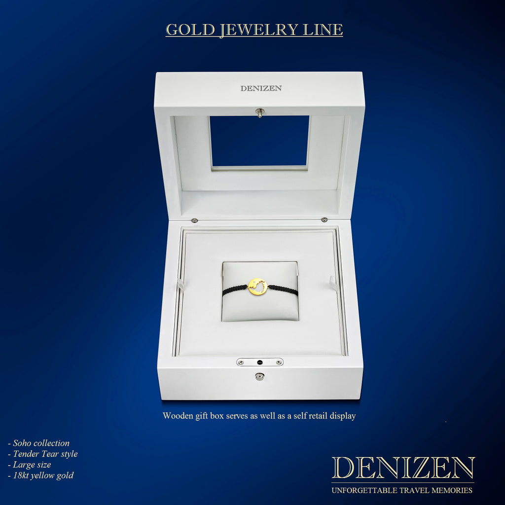 DENIZEN Bracelet gift box for the luxury 18kt gold line