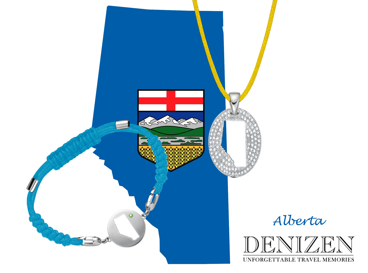 denizen bracelet and necklace of Alberta