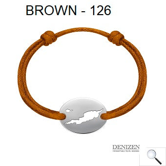 DENIZEN Bracelet - Brown color #126